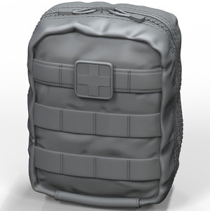 3D medical pouch model