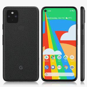 google pixel 5 model