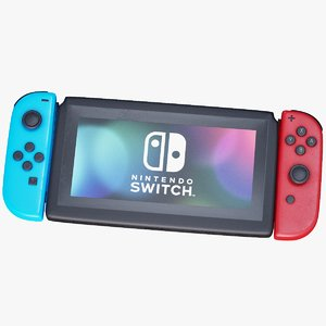 switch joycon 3D model