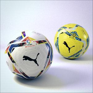 soccer balls - puma 3D model