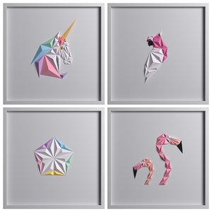 3D paper artwork 05