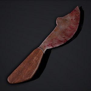 knife hilt 3 3D model