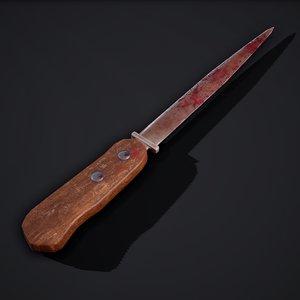 knife hilt 1 3D model