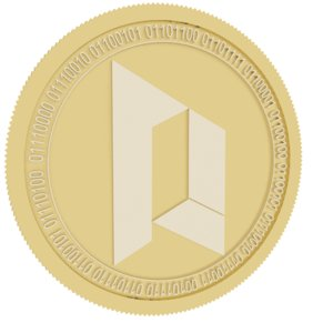 3D portal gold coin