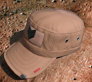 military cap militarycap 3D model