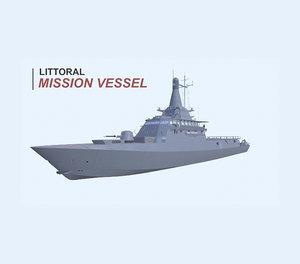 littoral mission vessel model