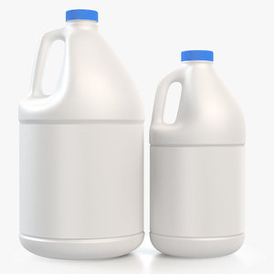 jug half gallon 3D