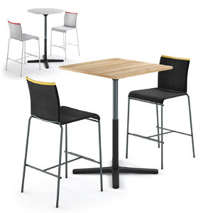adjustable table vitra super 3D model