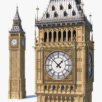 Big Ben Clock Tower Palace of Westminster