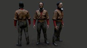 character 2 3D model