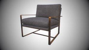 luxdeco spectre chair 3D model