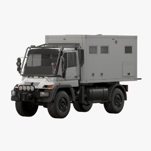 motorhome unimog u500 vehicle 3D