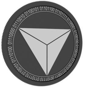 pyrexcoin coin 3D model
