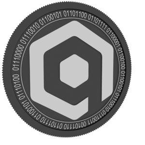 3D model qbase coin
