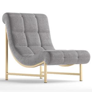 3D v-ray corona upholstery model