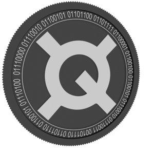 3D quantstamp black coin model