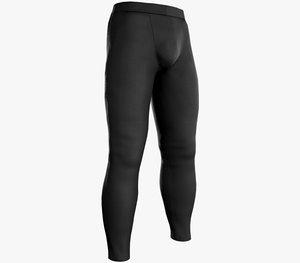 skinny medieval pants black model