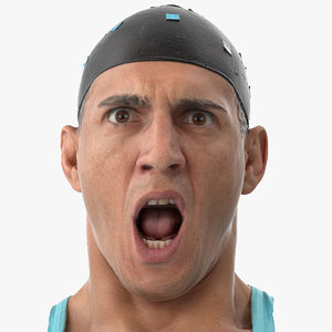 mike human head rage 3D model