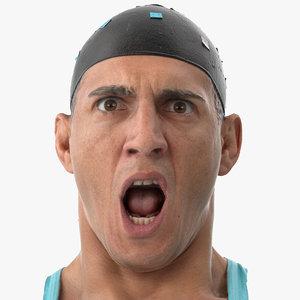 mike human head rage 3D model