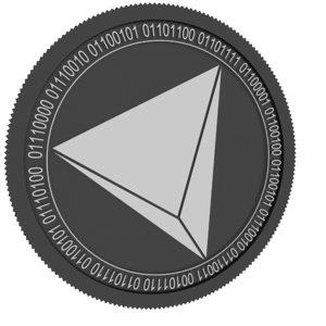 3D rialto black coin