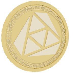 3D rozeus gold coin model