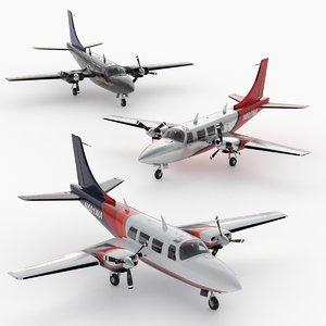 cockpit plane corona 3D model