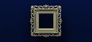 3D mirror frame