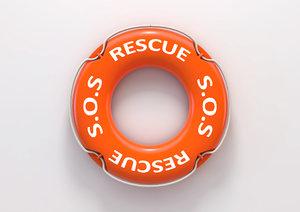 3D lifebuoy rescue