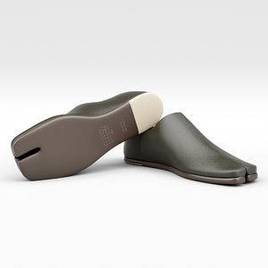 leather loafer model