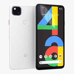 3D google pixel 4a clearly
