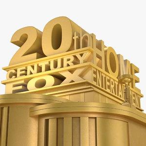 3D 20th century fox studios