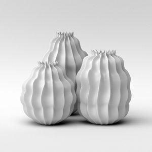 3D vase pumpkin