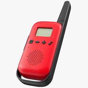 walkie talkie portable radio 3D model