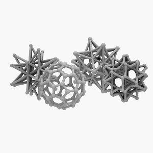 3D decorative star balls