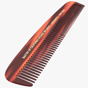 3D model baxter california pocket comb