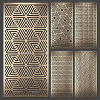 Decorative panel set 67