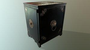 3D pbr antique safe