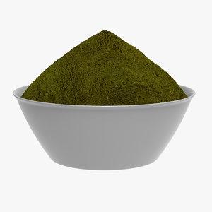 3D spicy powder