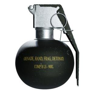 3D grenade model