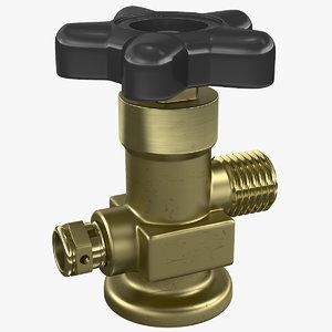 needle valve 3D model