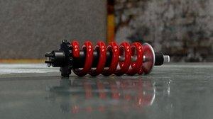 suspension spring 3D model