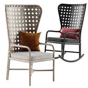 3D exalt chair