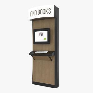 books kiosk model