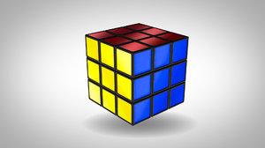 3D rubik s cube