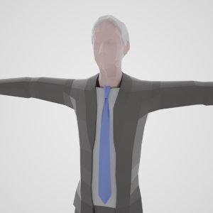 joe biden 3D model