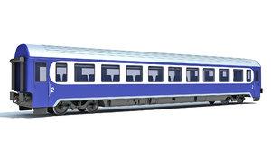 passenger car 3D