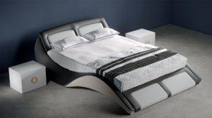 bed bedroom interior model
