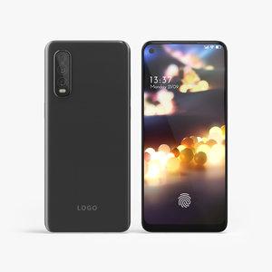 smartphone phones 2020 3D model