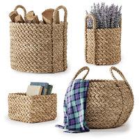 Pottery Barn Beachcomber Baskets 01