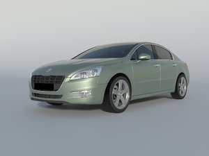 3D model peugeot 508